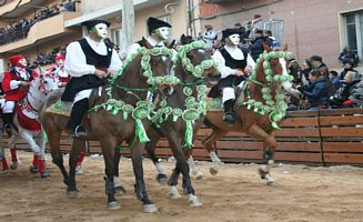 Sardinia - traditional parade in Oristano